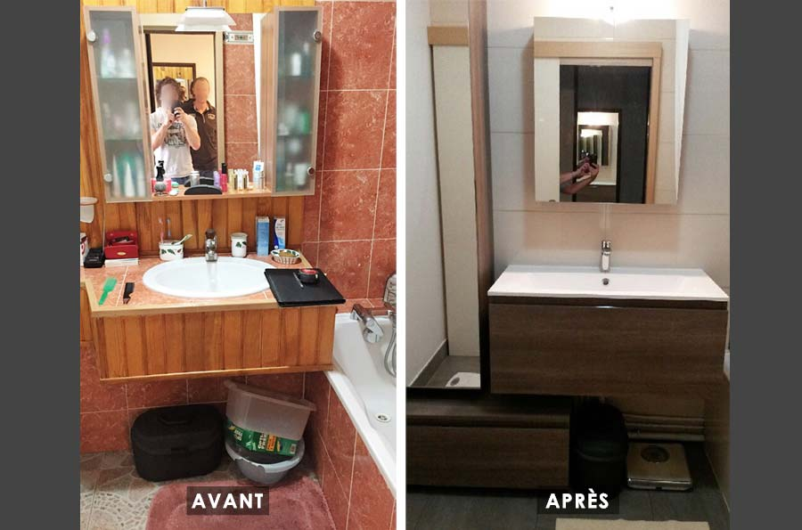 Rénovation de toilettes